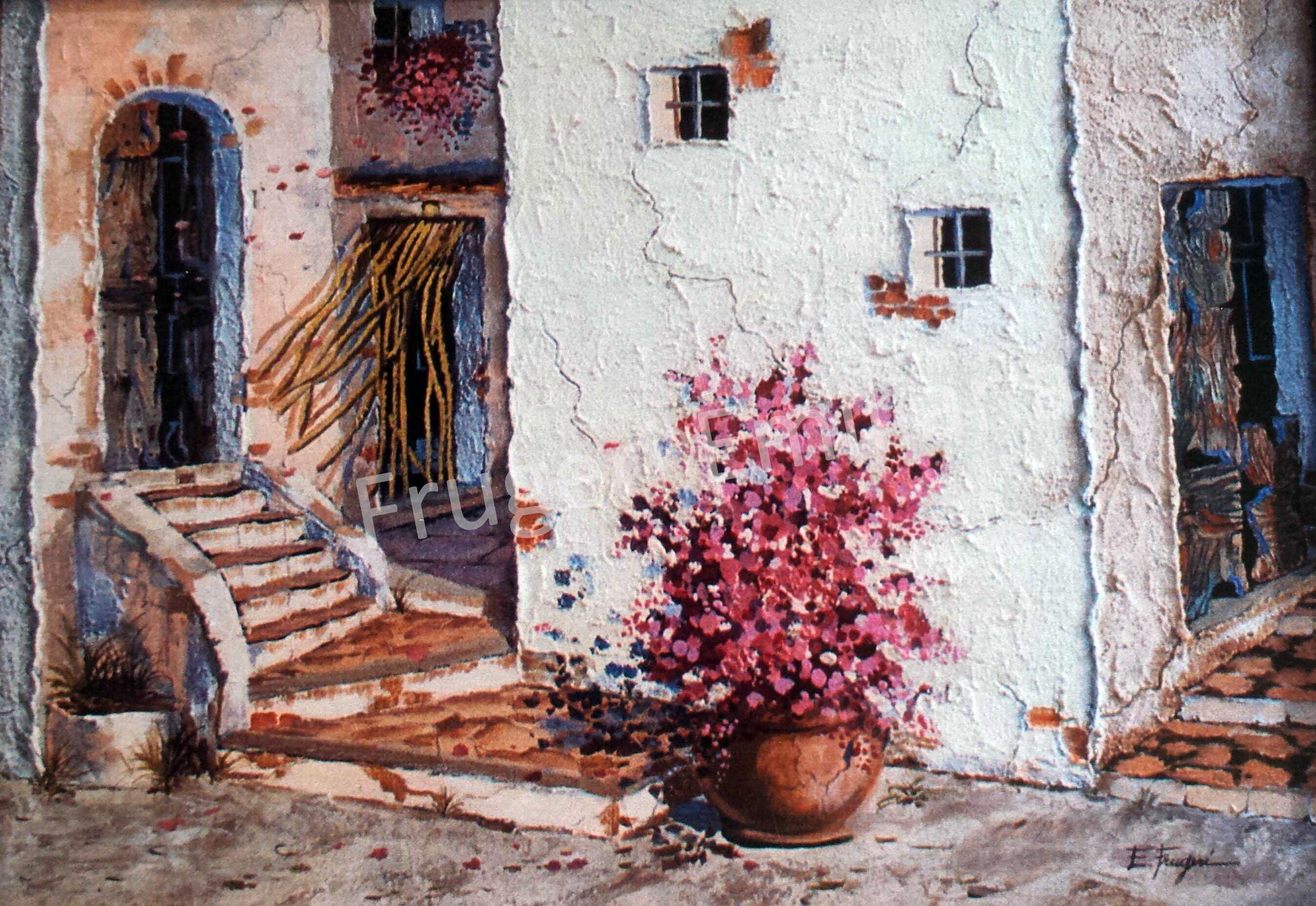 Frugeri Emiliana 230-Localita' Sant'Erasmo-50x70-Olio su Tela