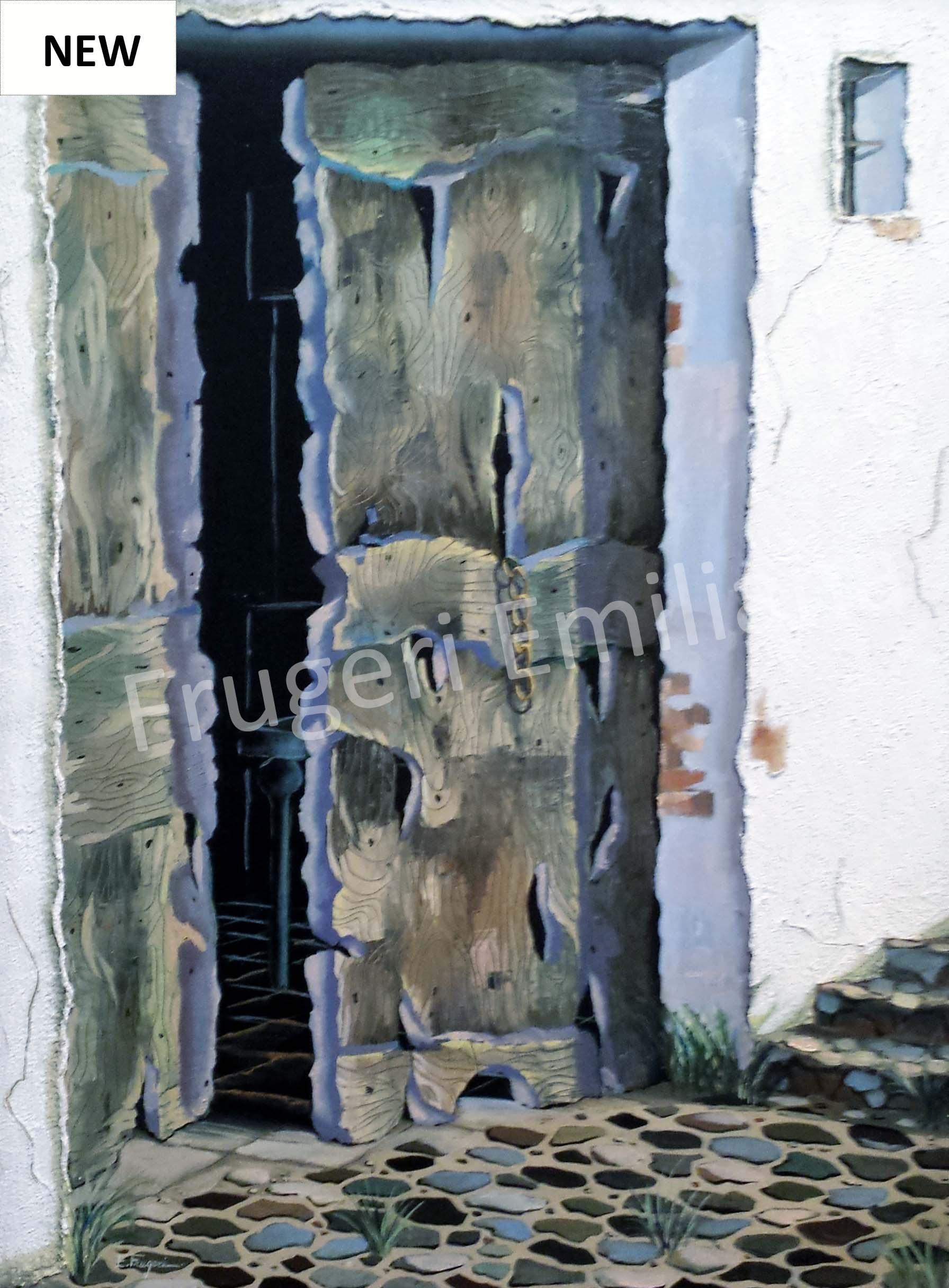 Frugeri Emiliana 169-Antica Sosta-60×80-Olio su Tela