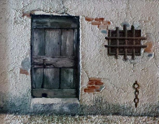Frugeri Emiliana 65-Via dell' Arrotino-40x50-Olio su Tela
